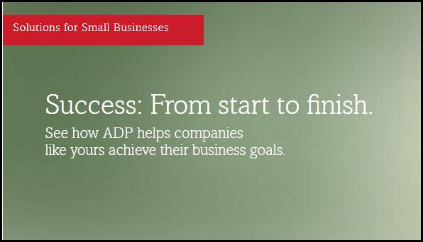 Small Biz Success Stories ADP